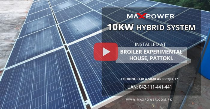 Broiler-Experimental-House-Pattoki-10kW-Hybrid-System