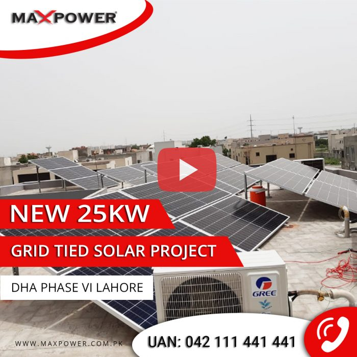 DHA-Phase-6-25kW-Grid-Tied-Sytem