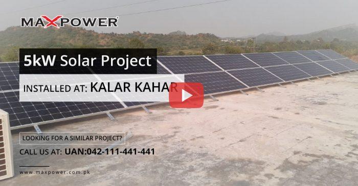 Kalar-Kahar-5kW-Solar-Project
