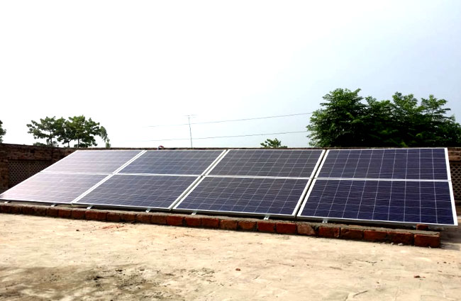 Solar Panel for Electricity generation