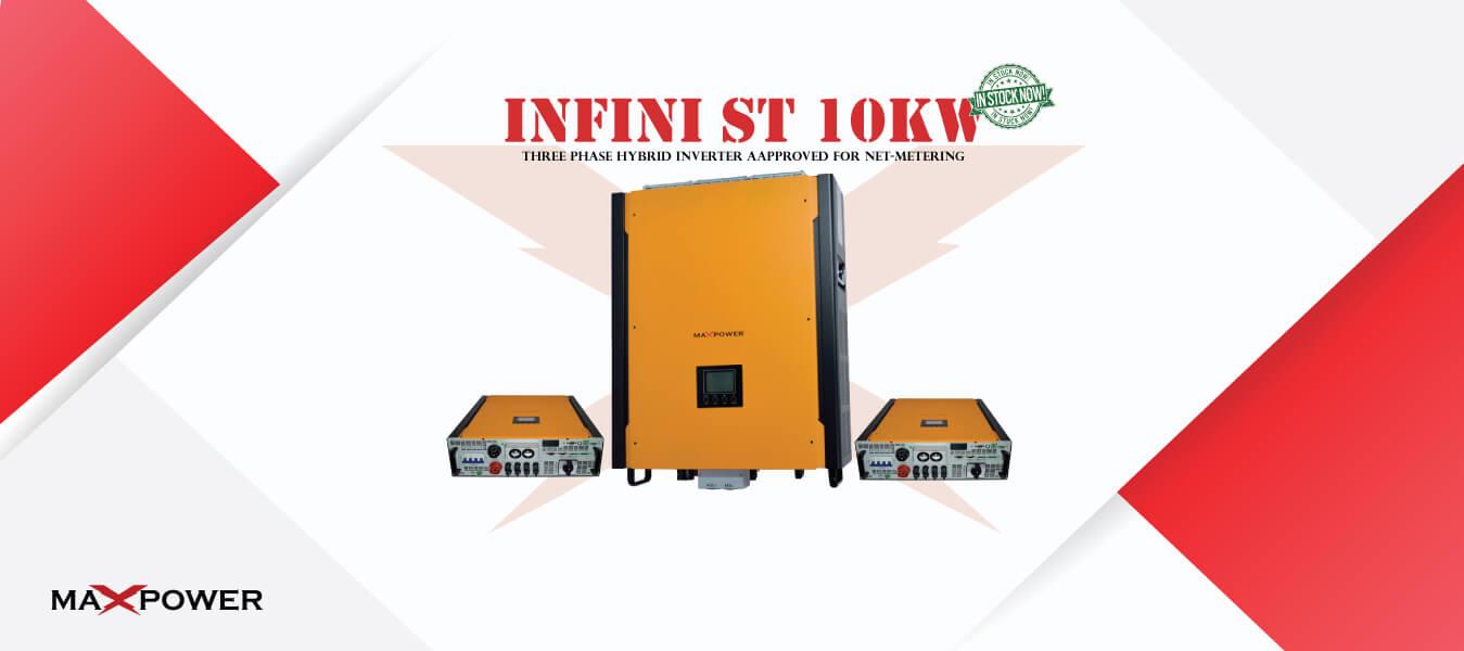 Infini ST10K Instock Now Banner