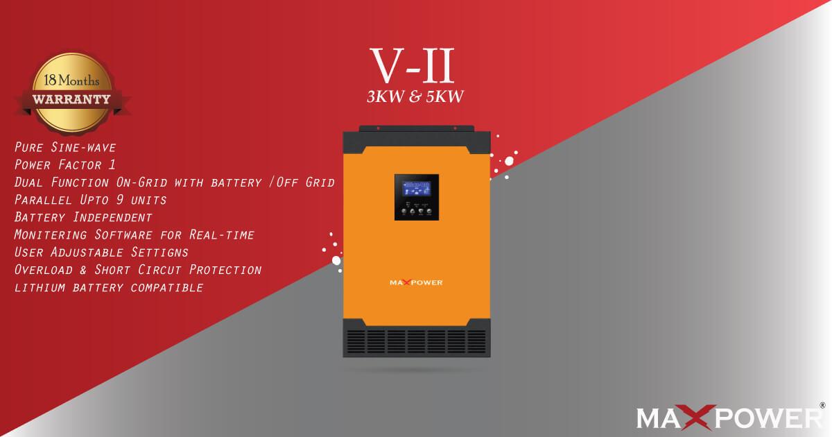Infini VII 3KW 5KW banner